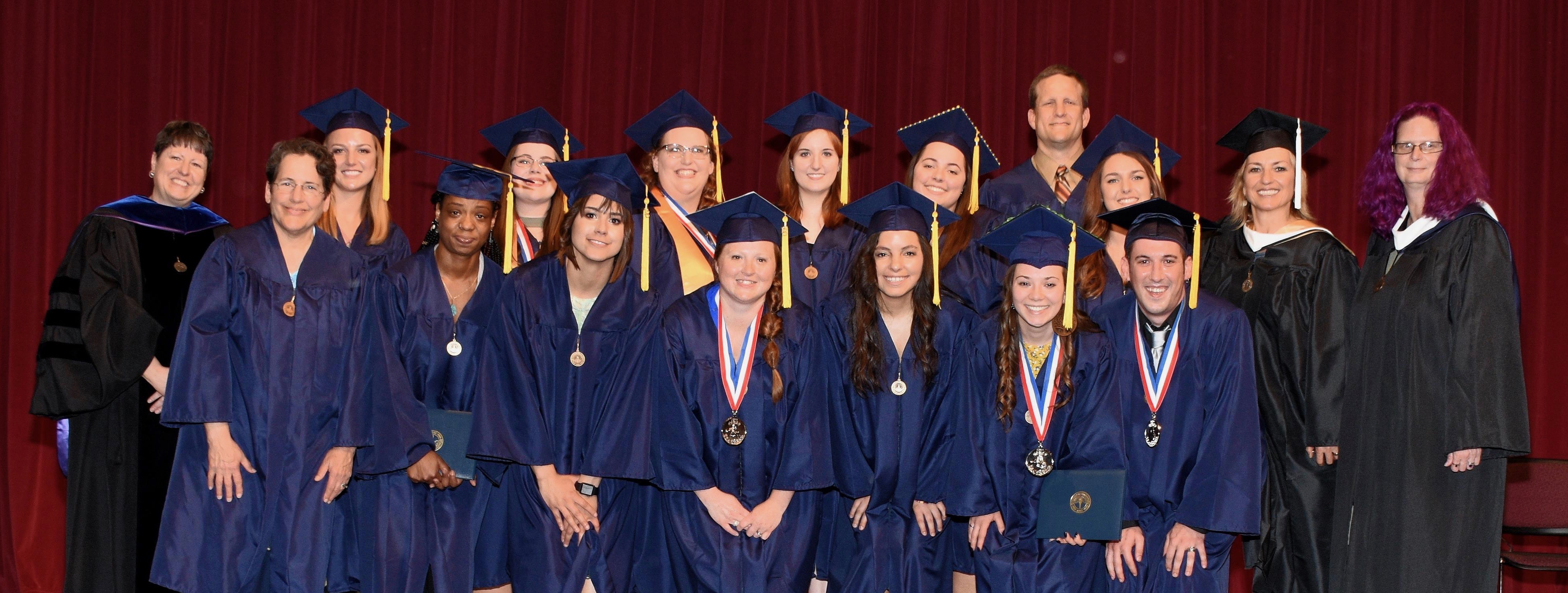 American Sign Language graduates at Vincennes University