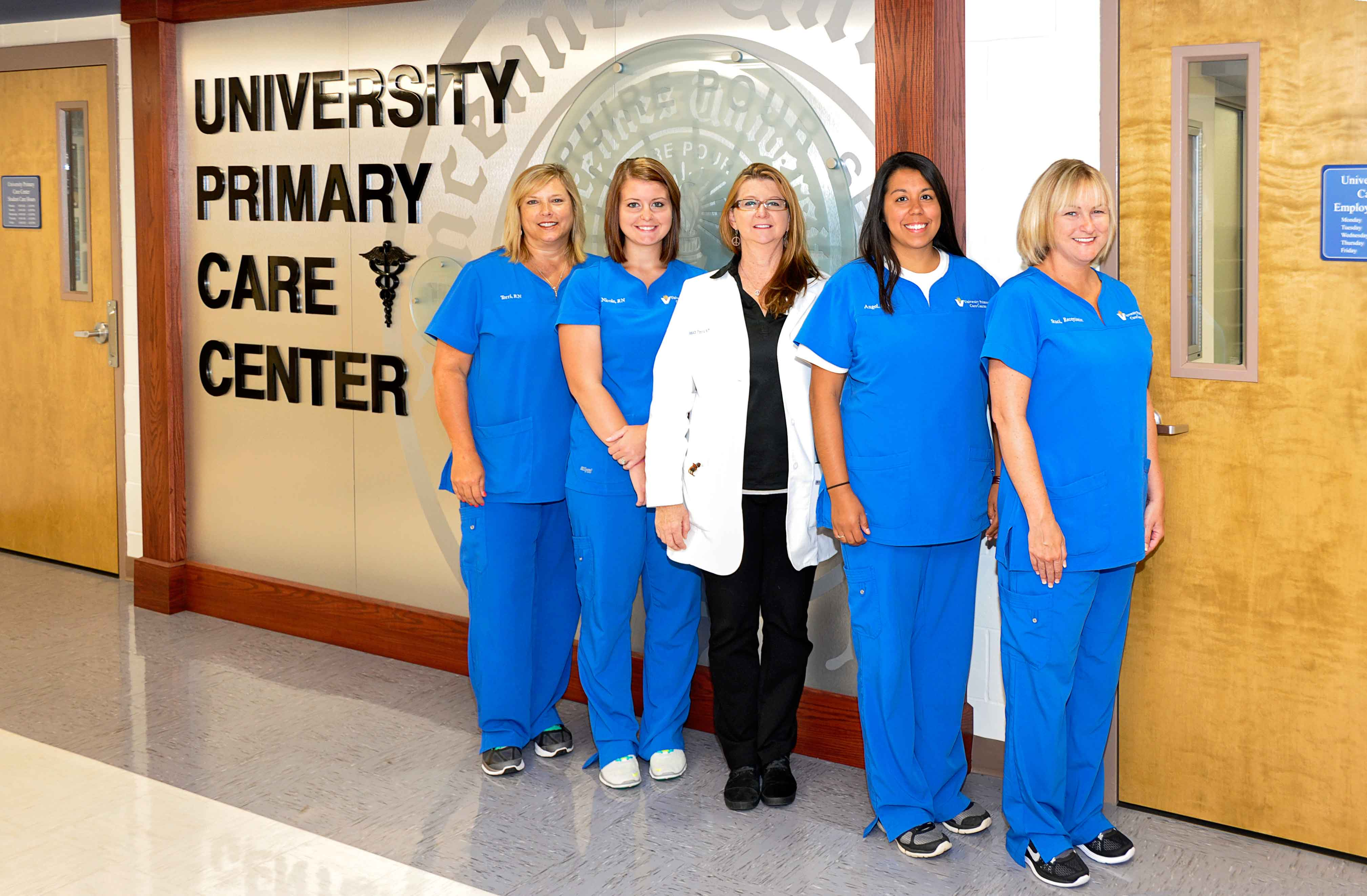 Vincennes University Primary Care Center Staff