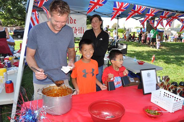 Chili Cookoff at family weekend on Vincennes campus