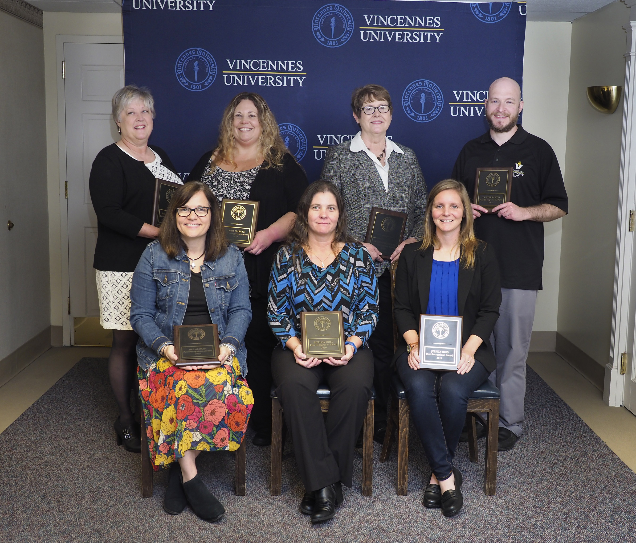 Vincennes University honors faculty and staff with Peer Recognition Awards
