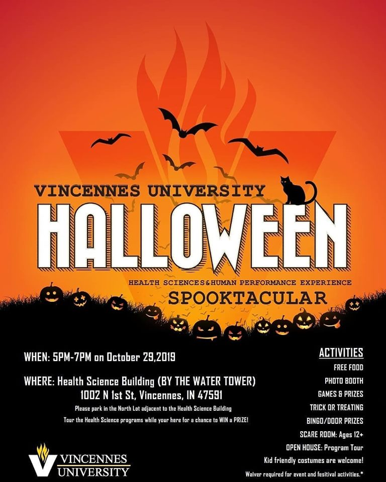 Health Sciences & Human Performance Trick or Treat Spooktacular!