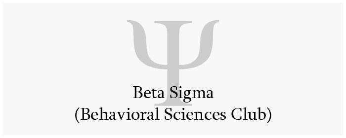 Behavioral Sciences Club