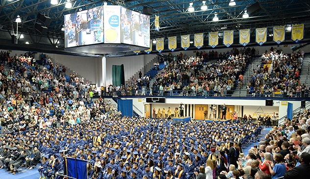 Vincennes University graduates turn their tassels