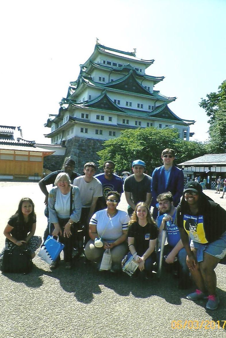 Explore Japan 2017 Group & Nagoya Castle