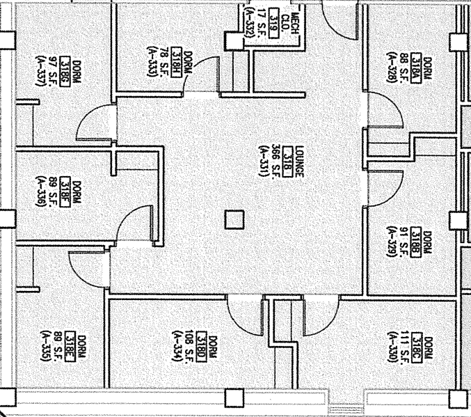 Ebner Hall Suite Floor Plan Part 64
