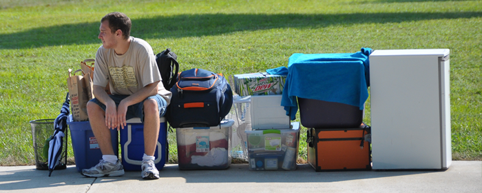 Student Moving Into Residence Hall At Vincennes University Part 5