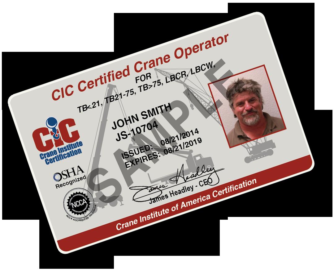 Overhead Crane Operator Licence : Crane institute certification vincennes university