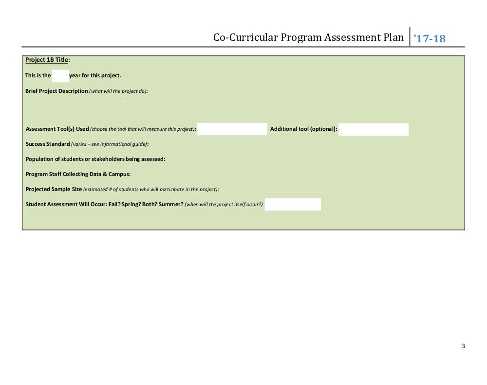 Assessment plan guides templates rubrics institutional loading maxwellsz