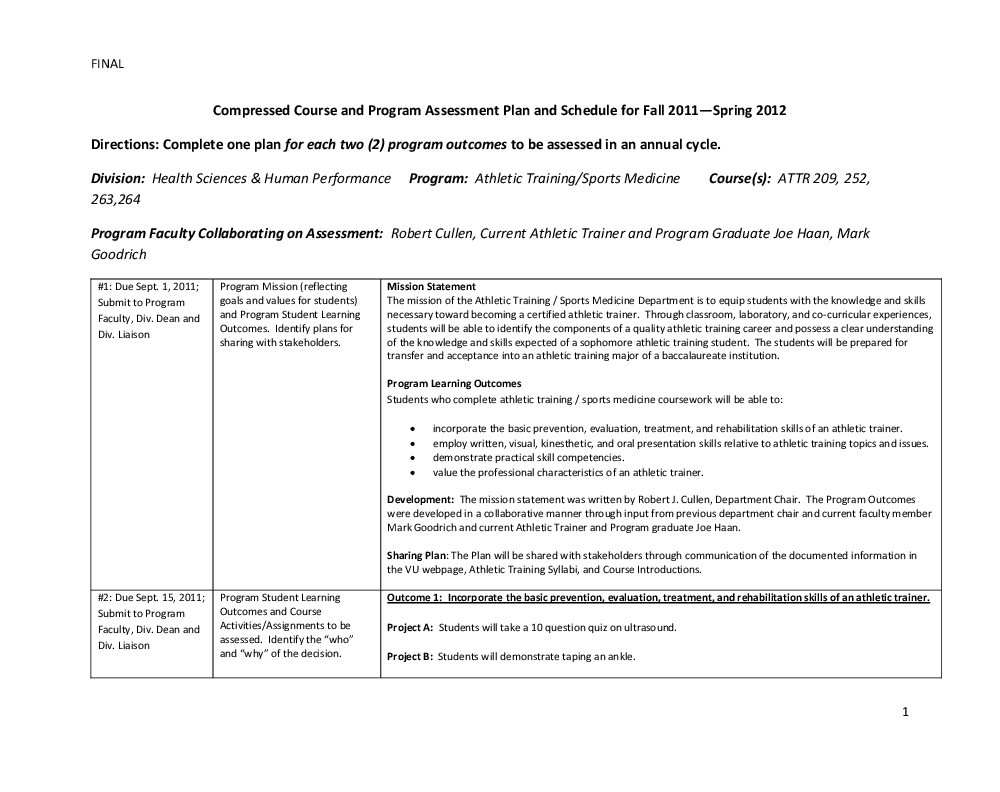 Assessment Plans Institutional Effectiveness Vincennes University See more ideas about kindergarten assessment, assessment, preschool assessment. assessment plans institutional