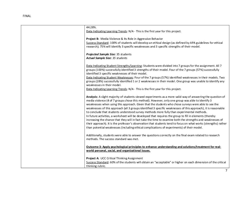 Workshops - Institutional Effectiveness - Vincennes University